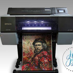 Giclée kunstdruk Epson SC P7500 giclée printer